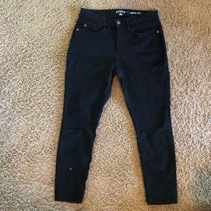 MOVING SALE! Riders skinny jeans with slit knees